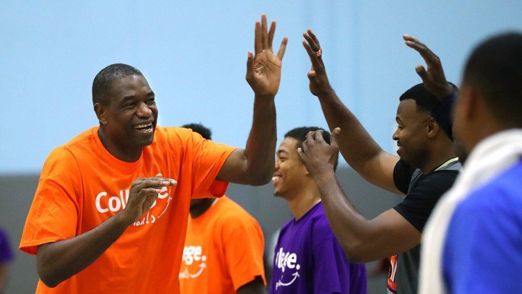 Dikembe Mutombo Breakthrough Atlanta Celebrity Basketball Game